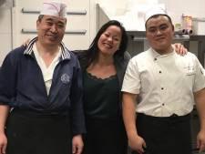 Chinese koks uit quarantaine en gezond en wel weer aan het werk in Nieuwkoop