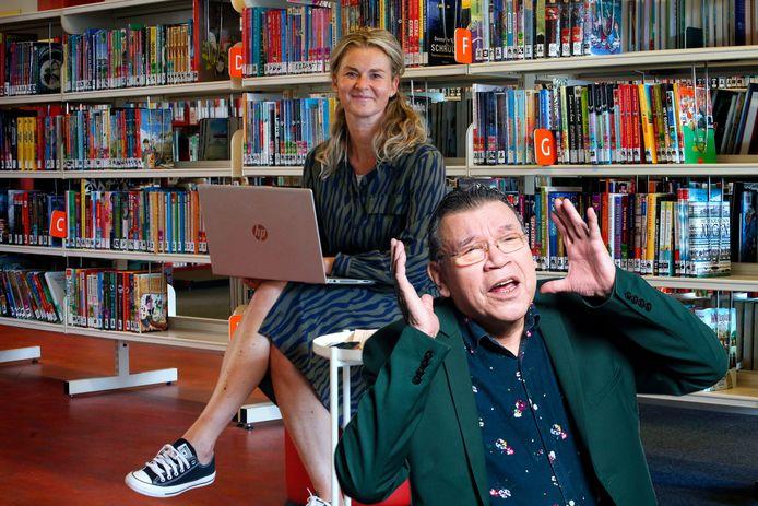 Roy Grünewald over het verhalenfestival in de bibliotheek in Gorinchem.