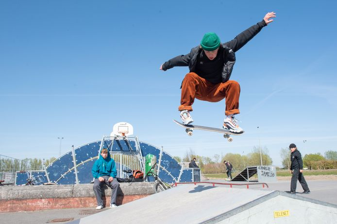 Het skatepark wordt 500 vierkante meter groter.