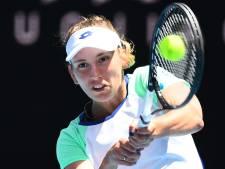 Belgische Elise Mertens in twee sets uitgeschakeld door Halep