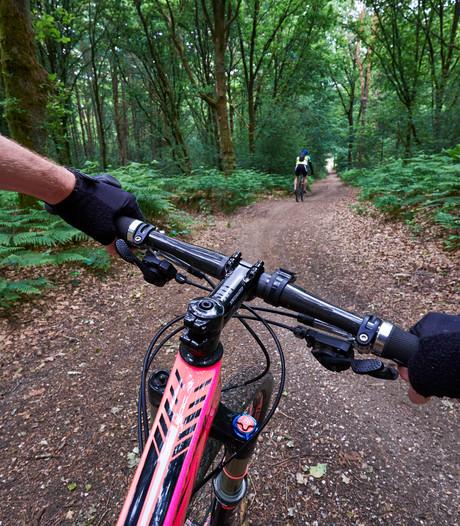 Geen klachten over mountainbikers in het Nollebos