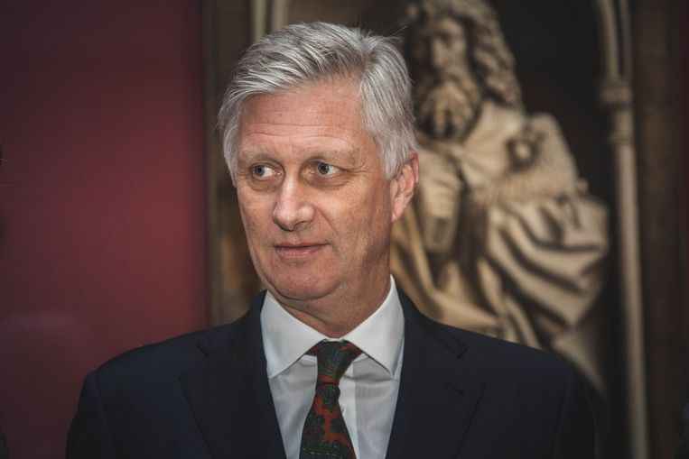 Koning Filip: 'We moeten naar de toekomst kijken in een geest van samenwerking en wederzijds respect om de mondiale uitdagingen aan te pakken.' Beeld Wannes Nimmegeers