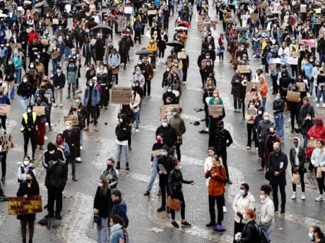 Schatting van Marcouch: 'Ruim duizend betogers in Arnhem bij protest tegen racisme'