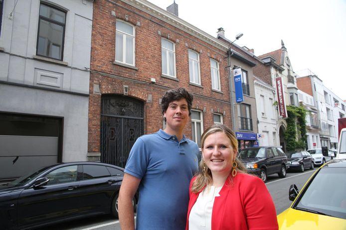 Jens Ottevaere en Tine Van Canneyt openen samen een boetiekhotel in de Stationsstraat.