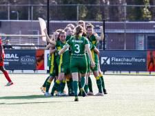 Papendrechtse schiet vrouwen ADO naar bekerfinale: 'Ik ben geen goaltjesdief, maar deze vloog er mooi in'