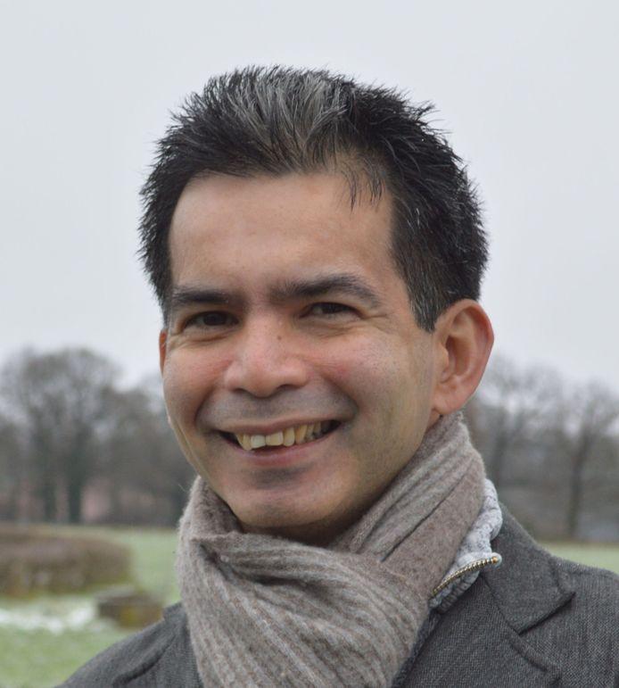 Fractievoorzitter William Sanchez van GroenLinksWilliam Sanchez