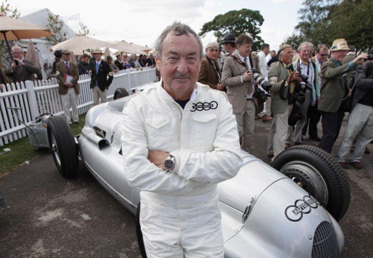 Nick Mason nam vijf keer deel aan de 24 uur van Le Mans. Beeld rv