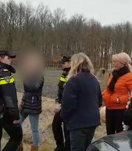 Politie houdt toezicht bij afschieten dieren in Oostvaardersplassen
