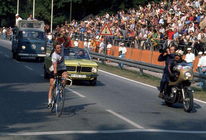 Hennie Kuiper werd naast wereldkampioen in 1975 ook olympisch kampioen in 1972.