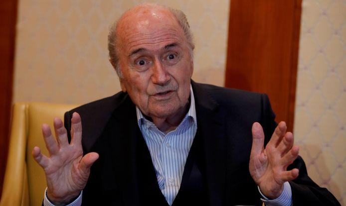 Sepp Blatter op archiefbeeld.