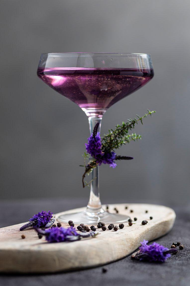Margarita met lavendel