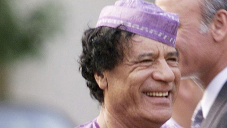 Archieffoto van Gaddafi. Beeld reuters
