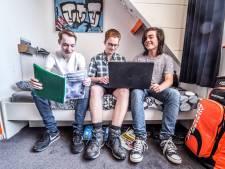 Drie vwo-leerlingen maakten een programma dat slimmer belegt dan mensen