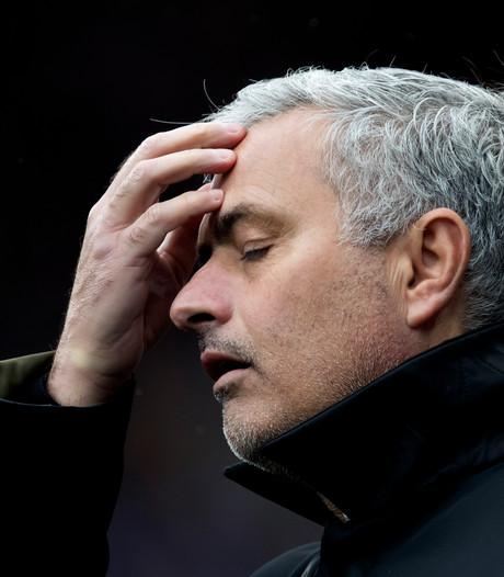 Mourinho woest op zijn spelers: Slecht team verdient het om gestraft te worden