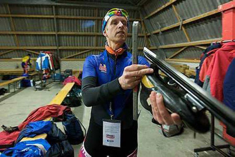 Arjen van Ketel (51) bereidt zich gedegen voor. Foto Peter Elenbaas Beeld