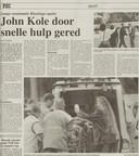Het krantenverslag van 11 augustus 1999.