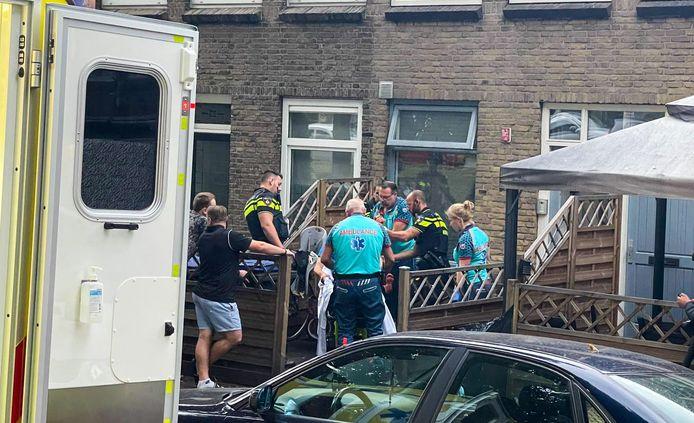 Persoon gewond geraakt in Dordrecht.