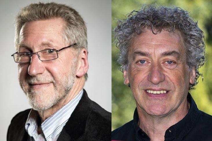Dirk Goemaere en Lucien Van de Velde
