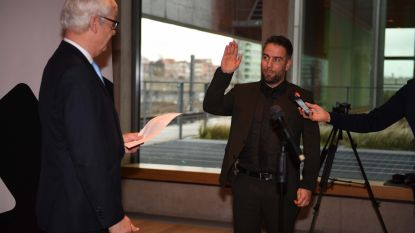 Bert De Wit legt eed af als nieuwe burgemeester