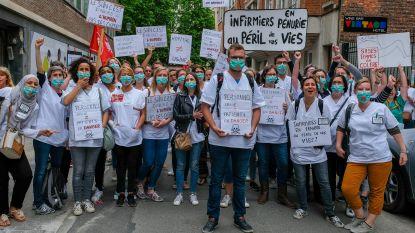 Ontevreden personeel van Brusselse openbare ziekenhuizen doet 24-urenstaking