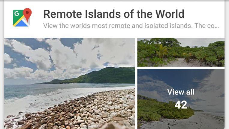 Je kunt zelf 360 graden-foto's toevoegen aan Google Streetview. Beeld Google
