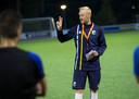 tk Dgfoto-Doetinchem-Steven Verheijen trainer DZC 68-tijdens training voorbereiding op bekerwedstrijd tegen Scheveningen