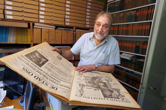 John van Zuijlen, de Brabantse historicus die het jubileumboek schrijft over het 250-jarig bestaan van onze krant.