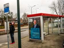Bladel heet nieuwe burgemeester welkom op posters in bushokjes