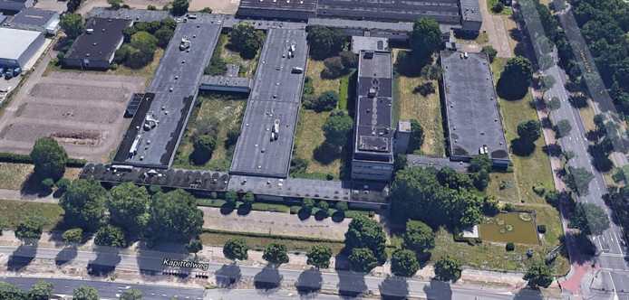 De voormalige Philips/Bosch-fabrieken aan de Kapittelweg