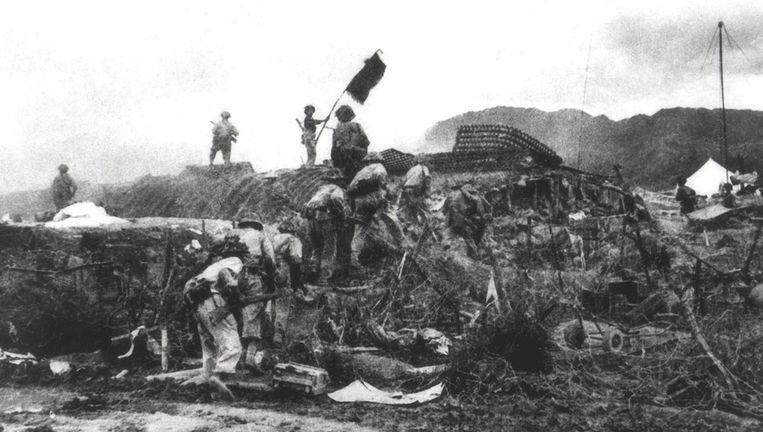 De Viëtnamezen behaalden uiteindelijk de historische overwinning op Dien Bien Phu.