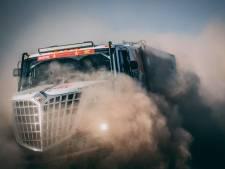 Van den Heuvel vreest voor opgave na crash waarbij de truck twintig meter werd gelanceerd: 'Wat een ellende'