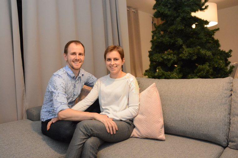 Thomas en Manoa wonen intussen samen in een flat in Stekene.