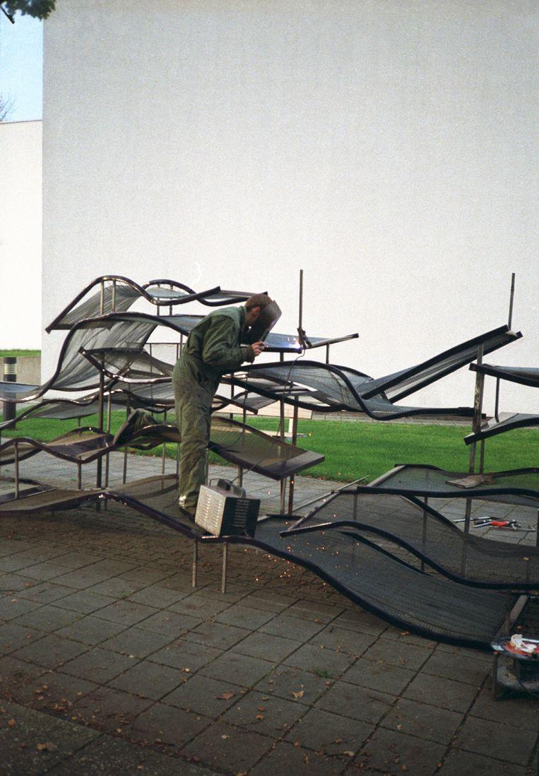 Installatie 22 Beds. Beeld