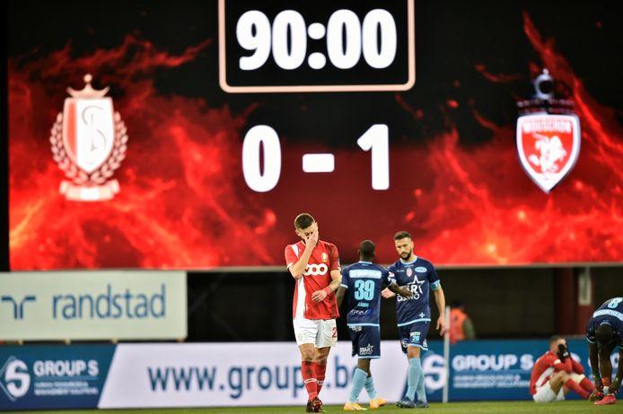 Au match aller, les Liégeois s'étaient inclinés 0-1 contre les Hurlus.