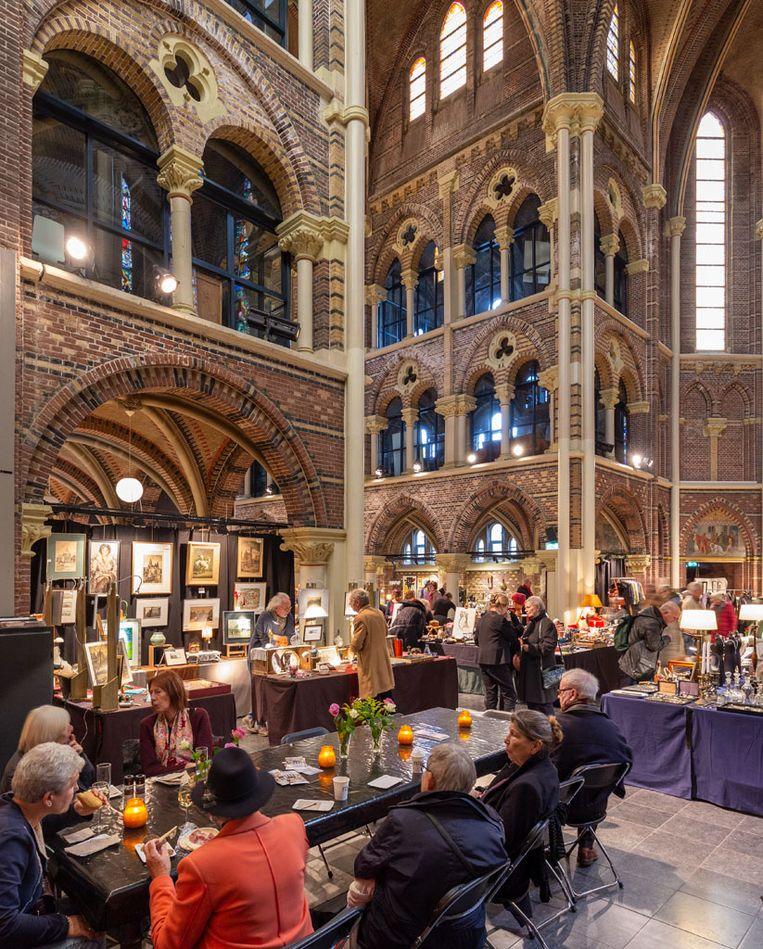 Congressen en evenementencentrum in de Posthoornkerk. Beeld Chris Booms en Paul van Galen