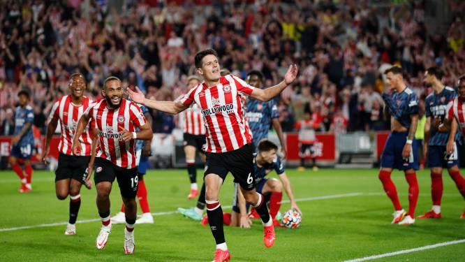 Stunt in opener Premier League: Arsenal en Sambi onderuit bij promovendus Brentford