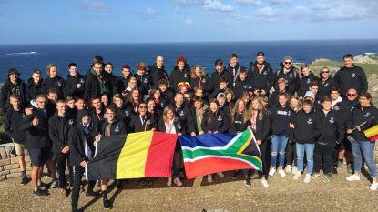 Jeugdspelers rugbyclub op toer in Zuid-Afrika