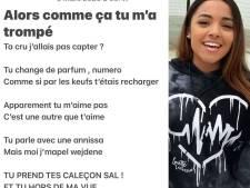 """Pour fêter son single de diamant, Wejdene partage le texte d'""""Anissa"""" écrit sur son téléphone en mars 2020"""