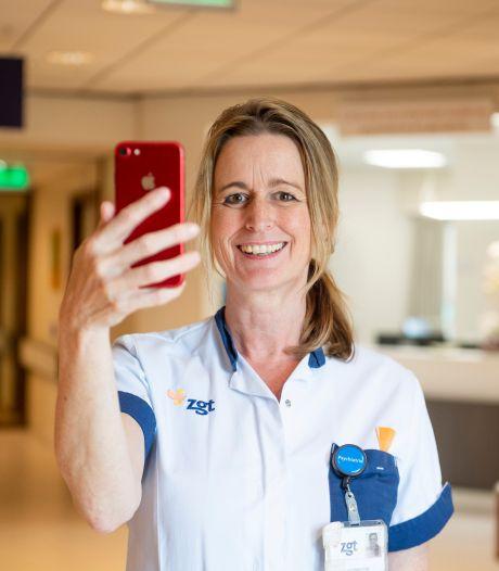 Ellen uit Enschede vlogde zich als verpleegkundige door de coronacrisis