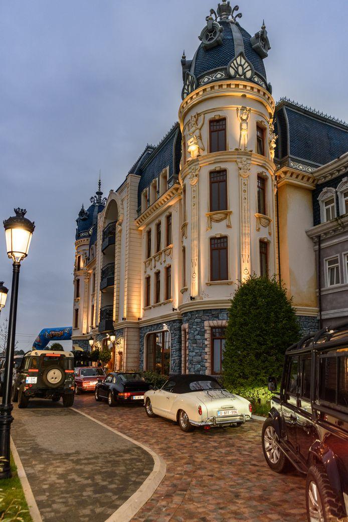 Zaterdagmorgen verzamelden de deelnemers aan het Plopsa Hotel.