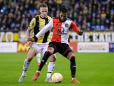 Feyenoord mist rechtsback St. Juste tegen Willem II