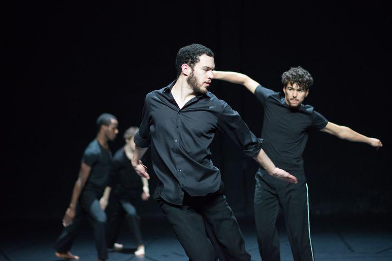 Dansgezelschap Rosas speelt 'A Love Supreme'.  Beeld rv Anne Van Aerschot