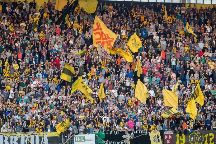 De fanatieke fans van NAC Breda kunnen hun favorieten al lange tijd niet toejuichen.