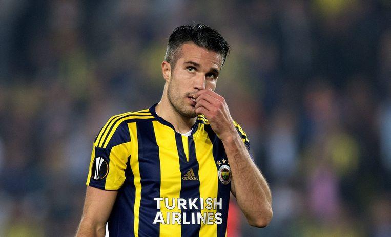 Robin van Persie scoorde twee keer voor Fenerbahçe. Beeld epa