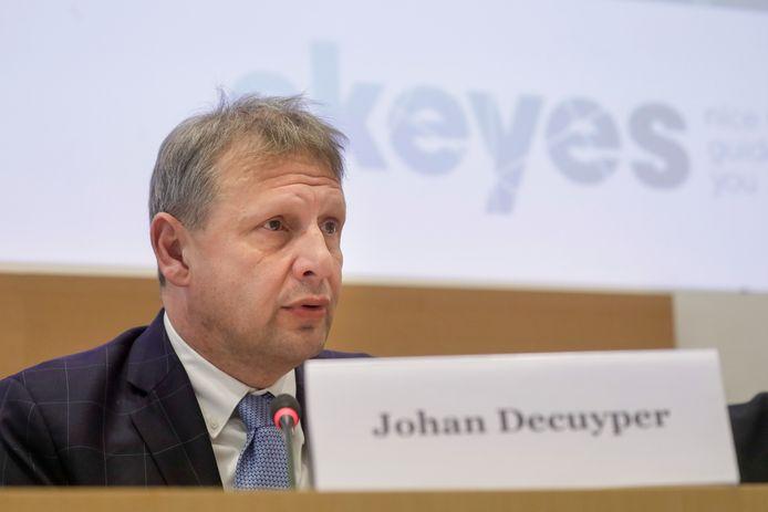 Skeyes-topman Johan Decuyper.