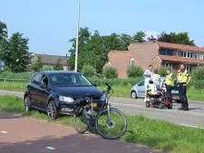 Scootmobieler gewond bij botsing met auto