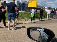 Meer vaccins en dus verkeerschaos bij priklocatie aan de Haverdijk in Helmond
