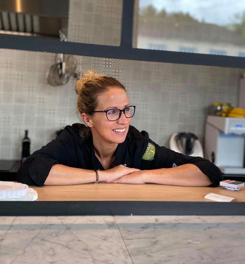 Julie Van Sante, cheffe et propriétaire de Bioloco.