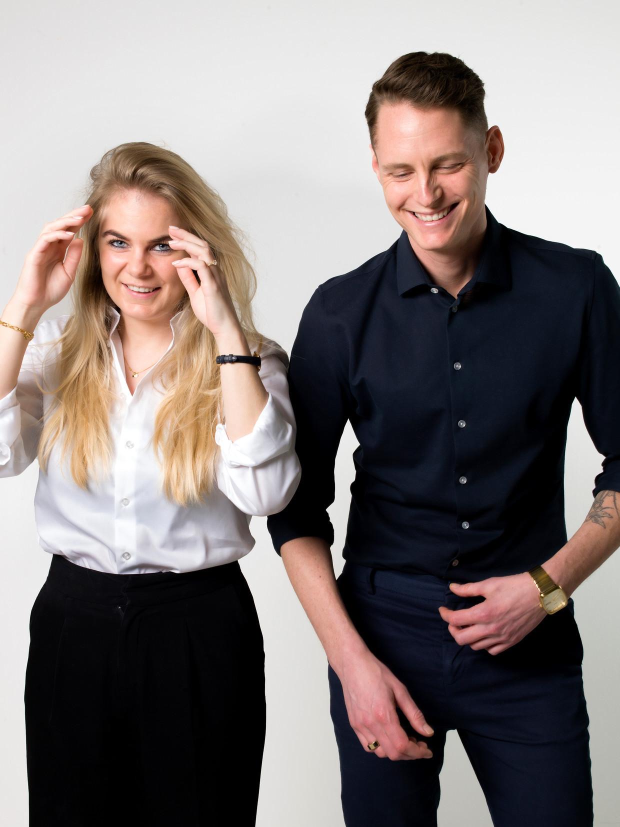 Lotte Vink en Kasper Brandi Petersen  Beeld Eva Roefs
