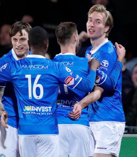 Eindelijk weer winst voor FC Den Bosch: 3-0 tegen Helmond Sport